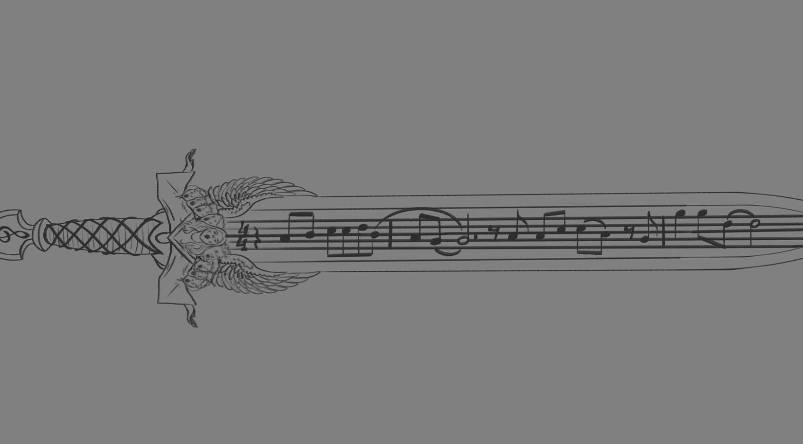 Illustration Walkthrough: Sword & Shield